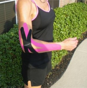 SpiderTech X-Strips for Tennis Elbow Pain