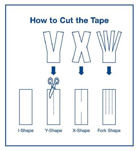 25e722314e86 Kinesiology Tape Instructions